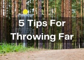 Tips for throwing far