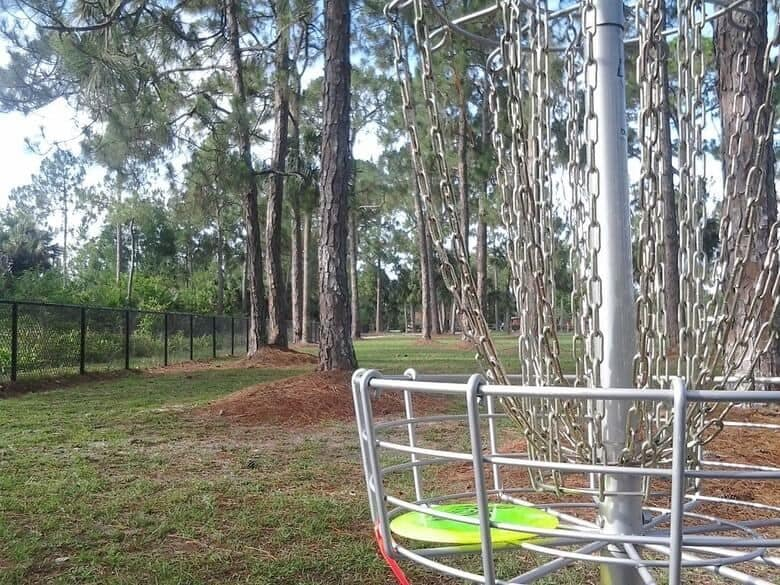 Disc Golf Basket For Games